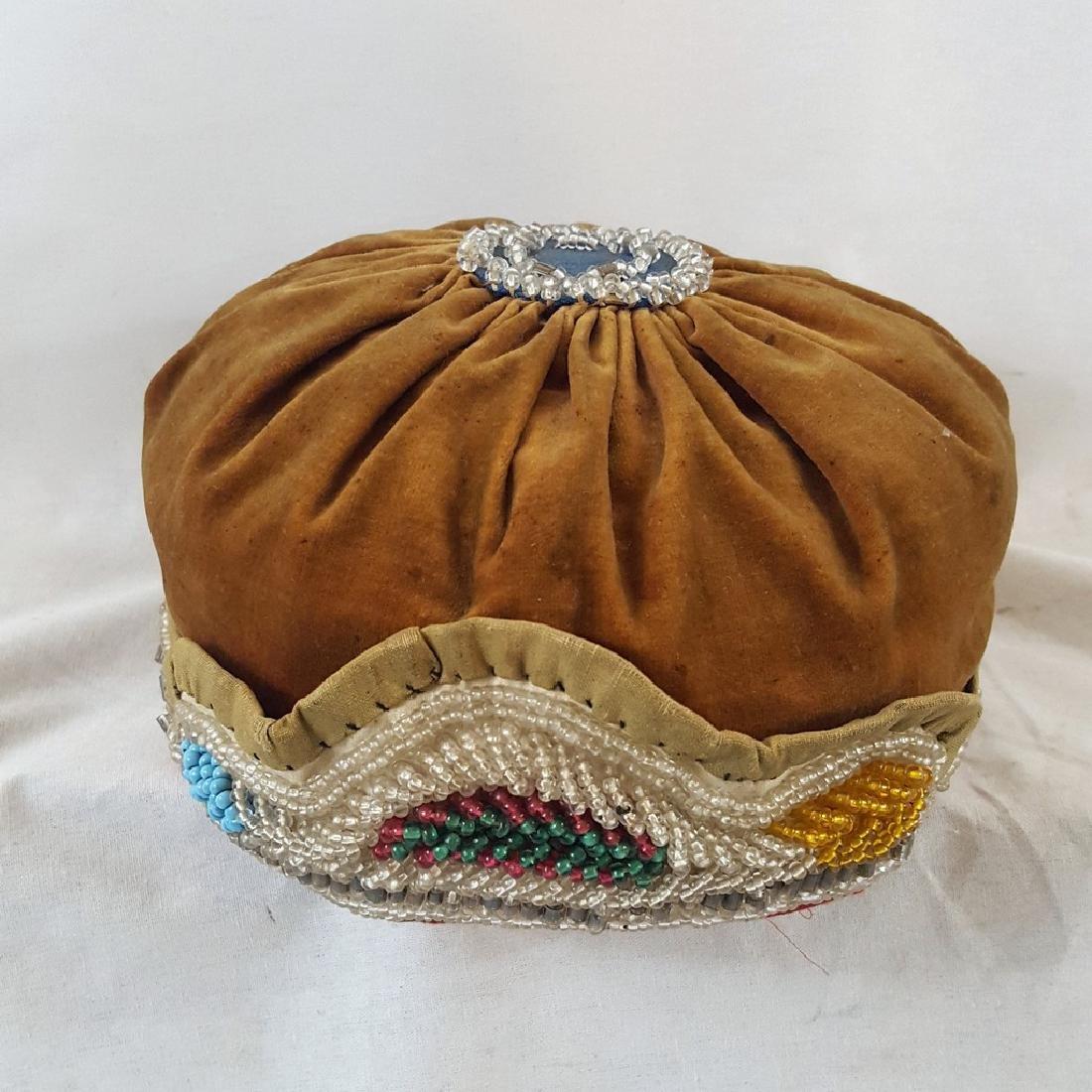 Mic Mac Beaded Womans Hat Ca 1920