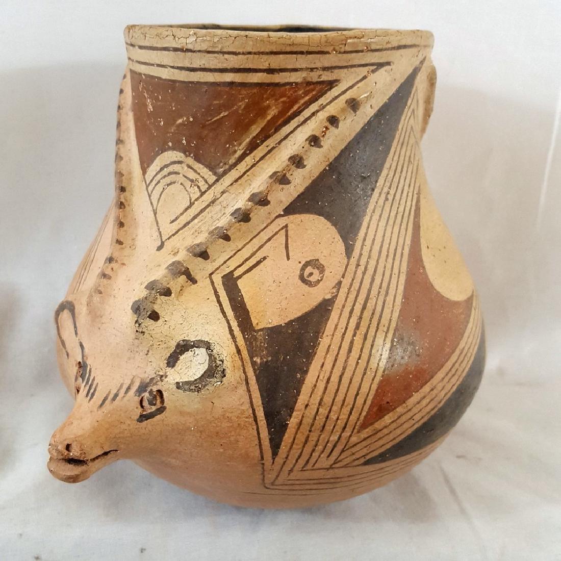 Casas Grande Coyote Effigy Pot Ca Early 20th Century