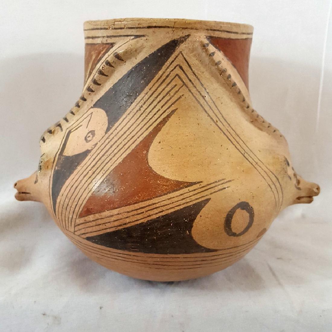 Casas Grande Coyote Effigy Pot Ca Early 20th Century - 4