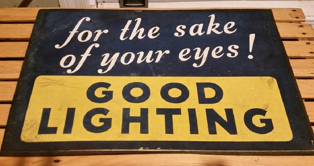 Vintage Good Lighting Sign Lamps Lighting Store