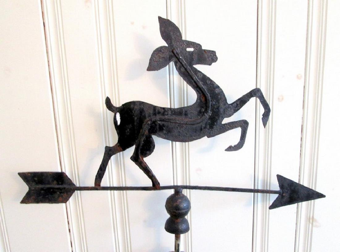 Graphic Fawn Weathervane