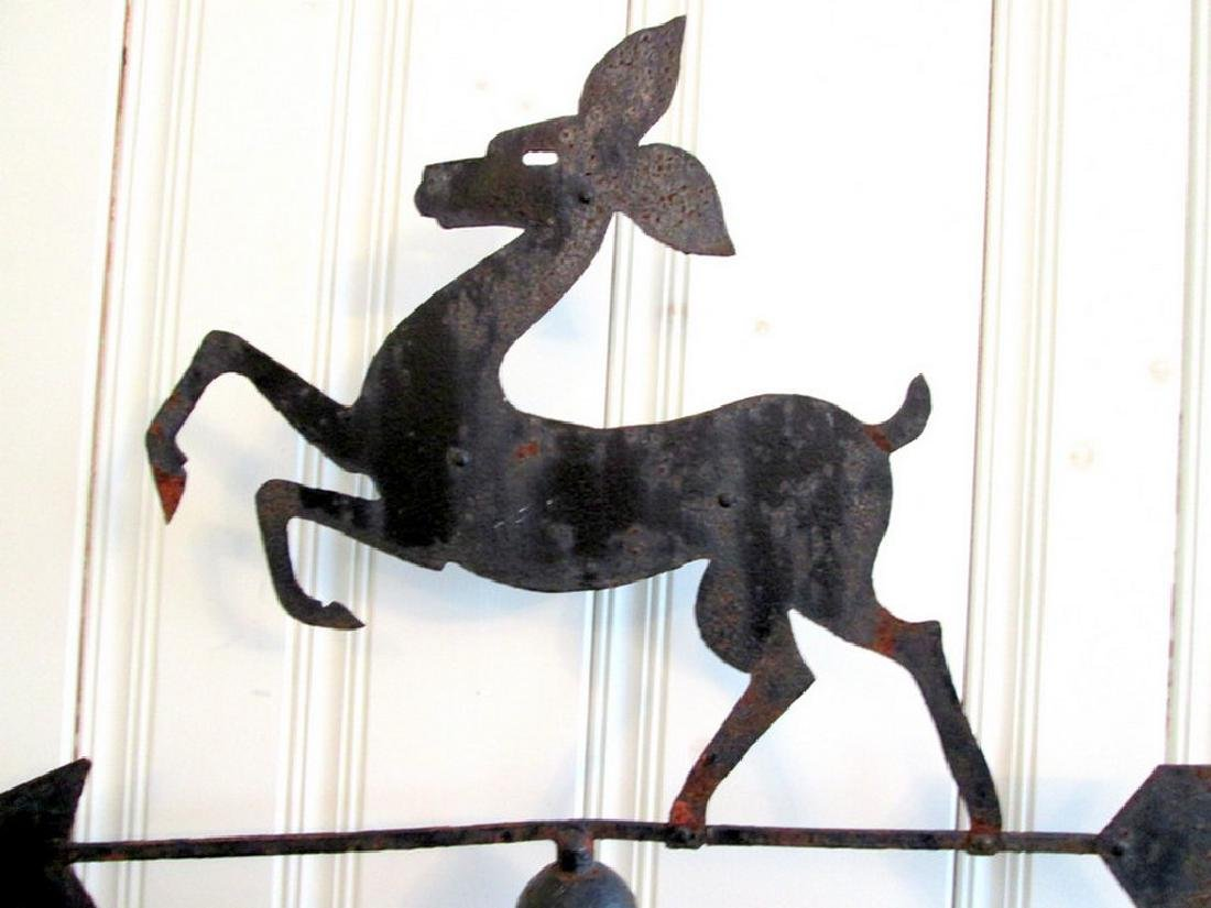 Graphic Fawn Weathervane - 3