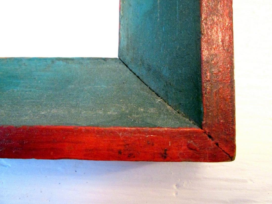Early Painted Pine Frame - 10