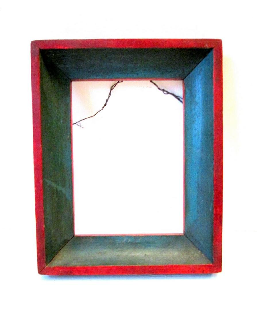 Early Painted Pine Frame