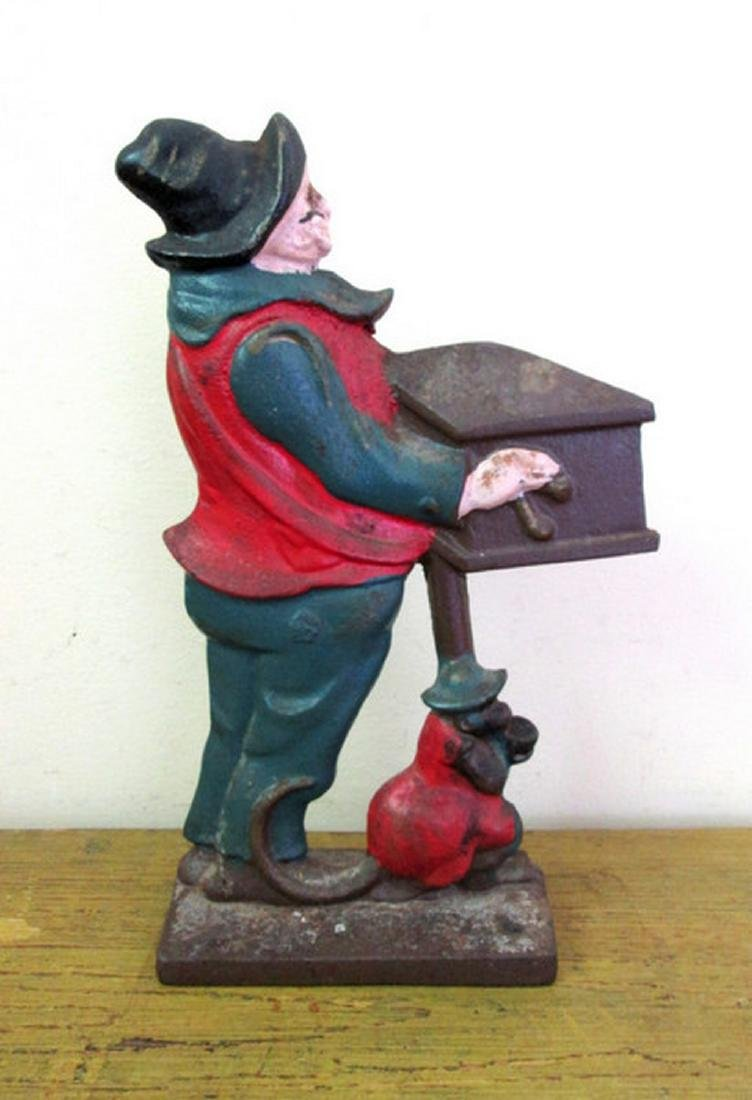 Organ Grinder With Monkey Doorstop
