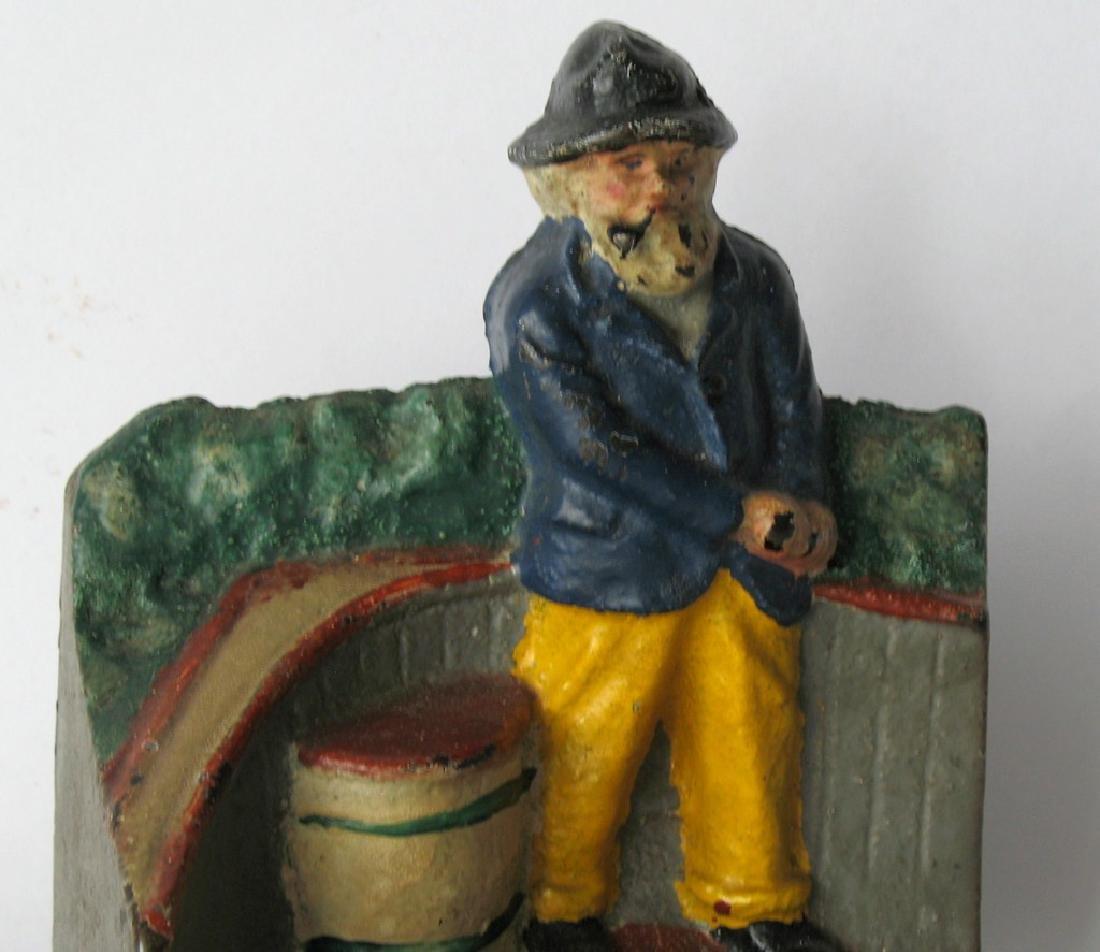 Rare Old Salt at the Tiller Doorstop - 2