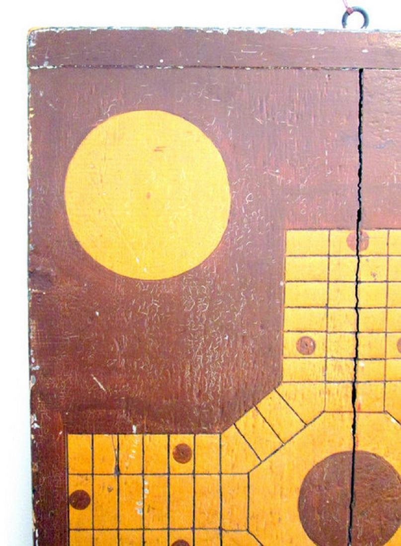 Parcheesi & Checkers Painted Gameboard - 8