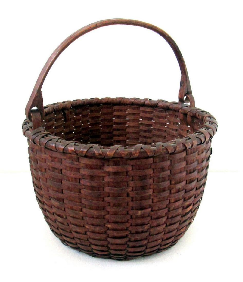 Superb Early Swing Handled Basket