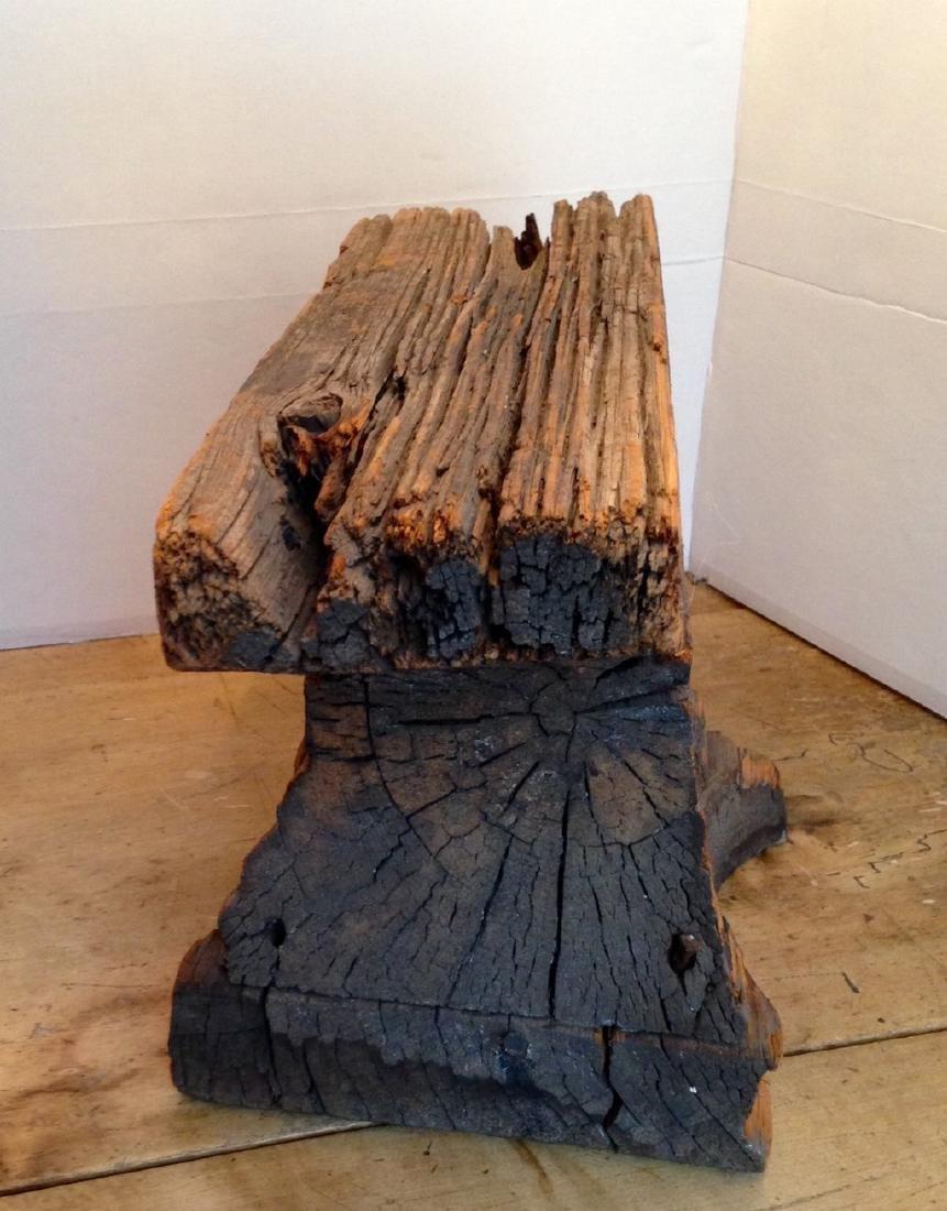 C1800 Wooden Anvil Blacksmith Trade Sign - 3