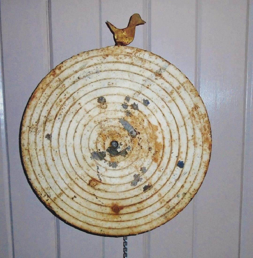 Shooting Gallery Target With Moveable Duck