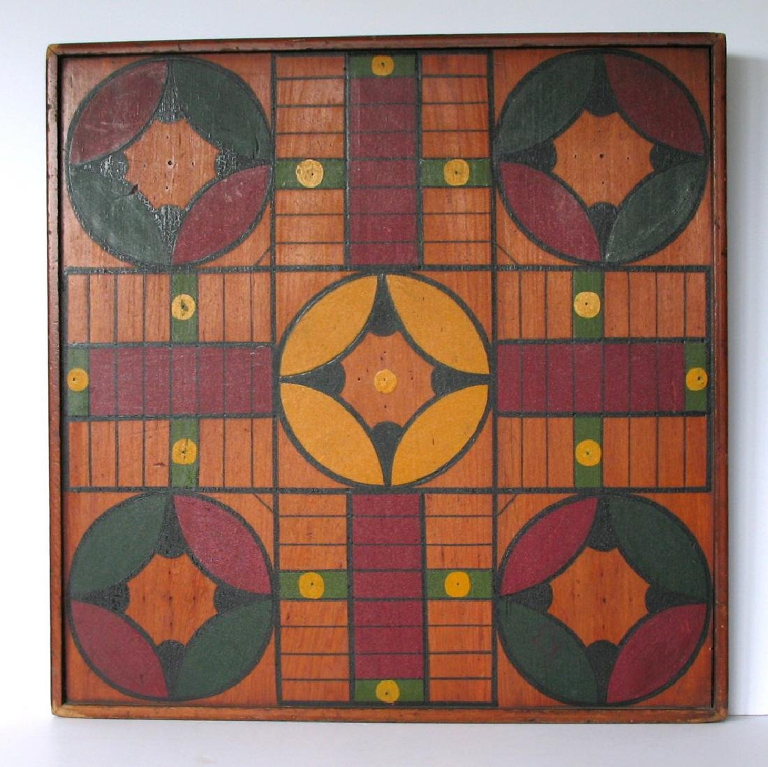 Great Vintage Parcheesi Board