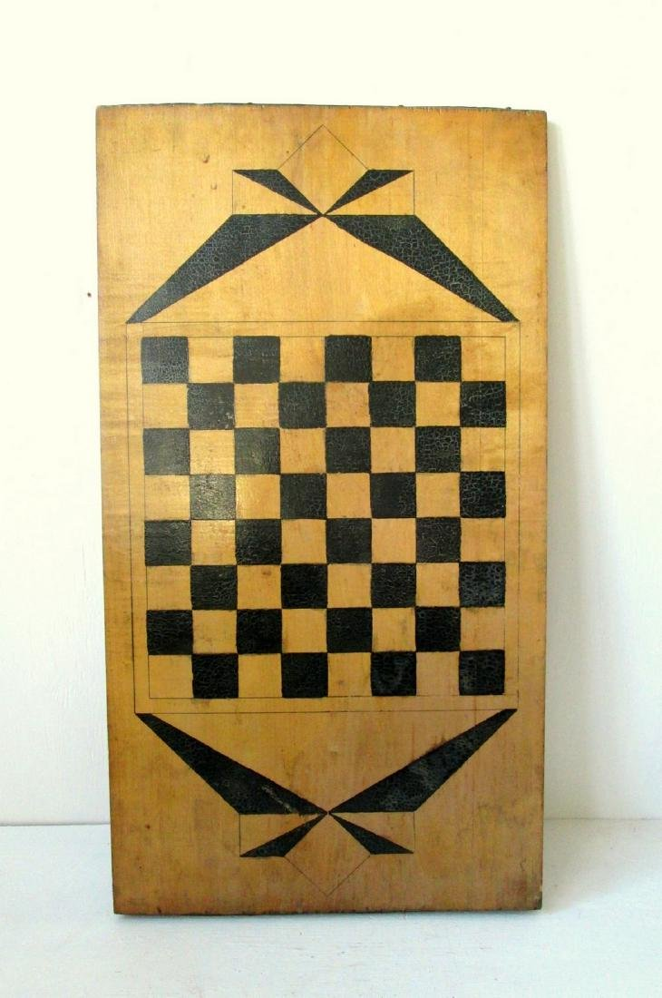 Graphic Checkers Gameboard
