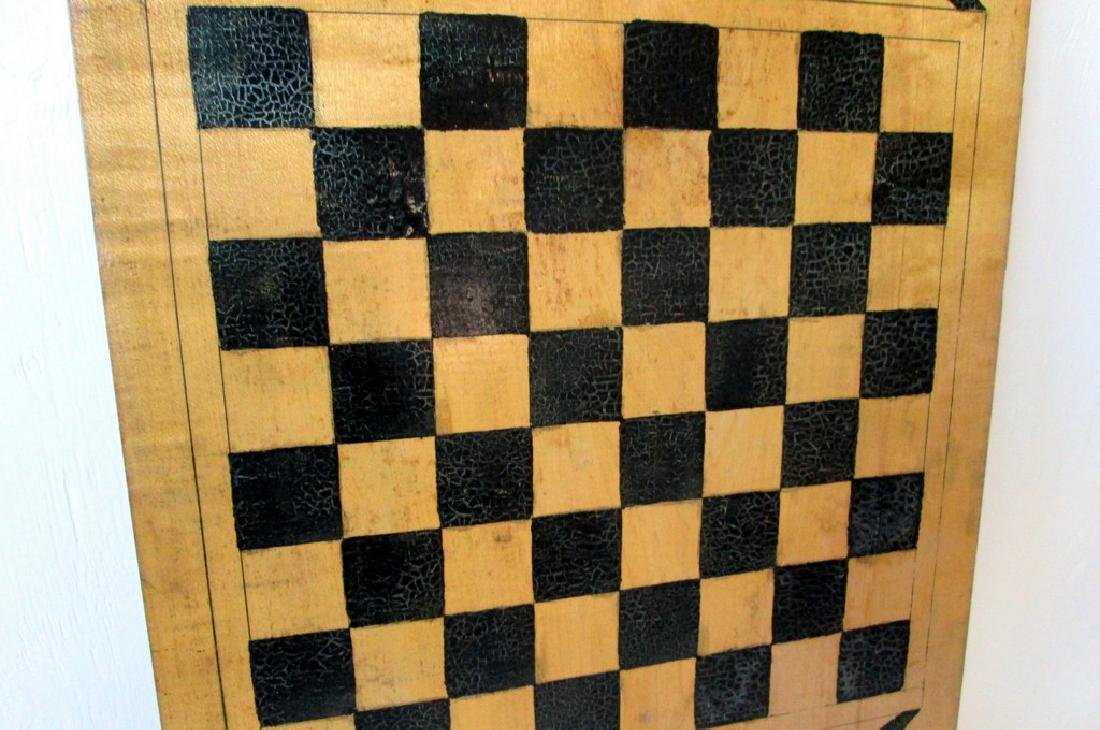 Graphic Checkers Gameboard - 7
