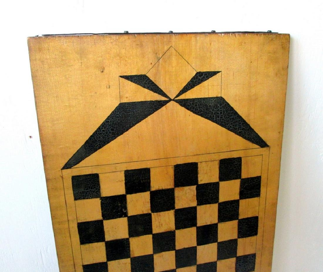 Graphic Checkers Gameboard - 8