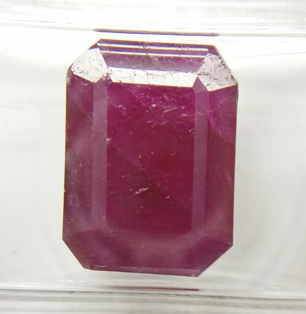 Ruby Dark Purplish Red 10.65 ct