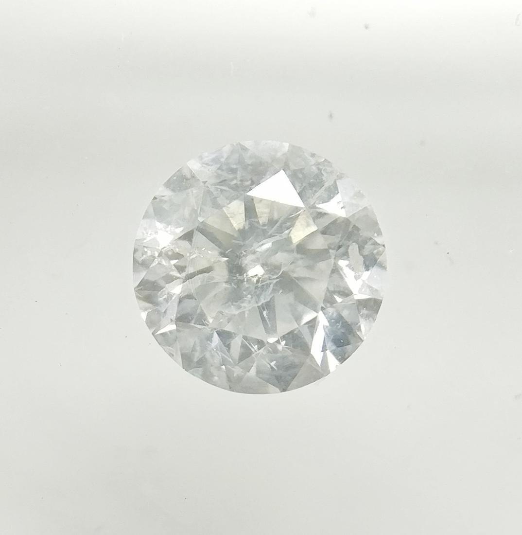 0.46 ct Round cut diamond F SI3