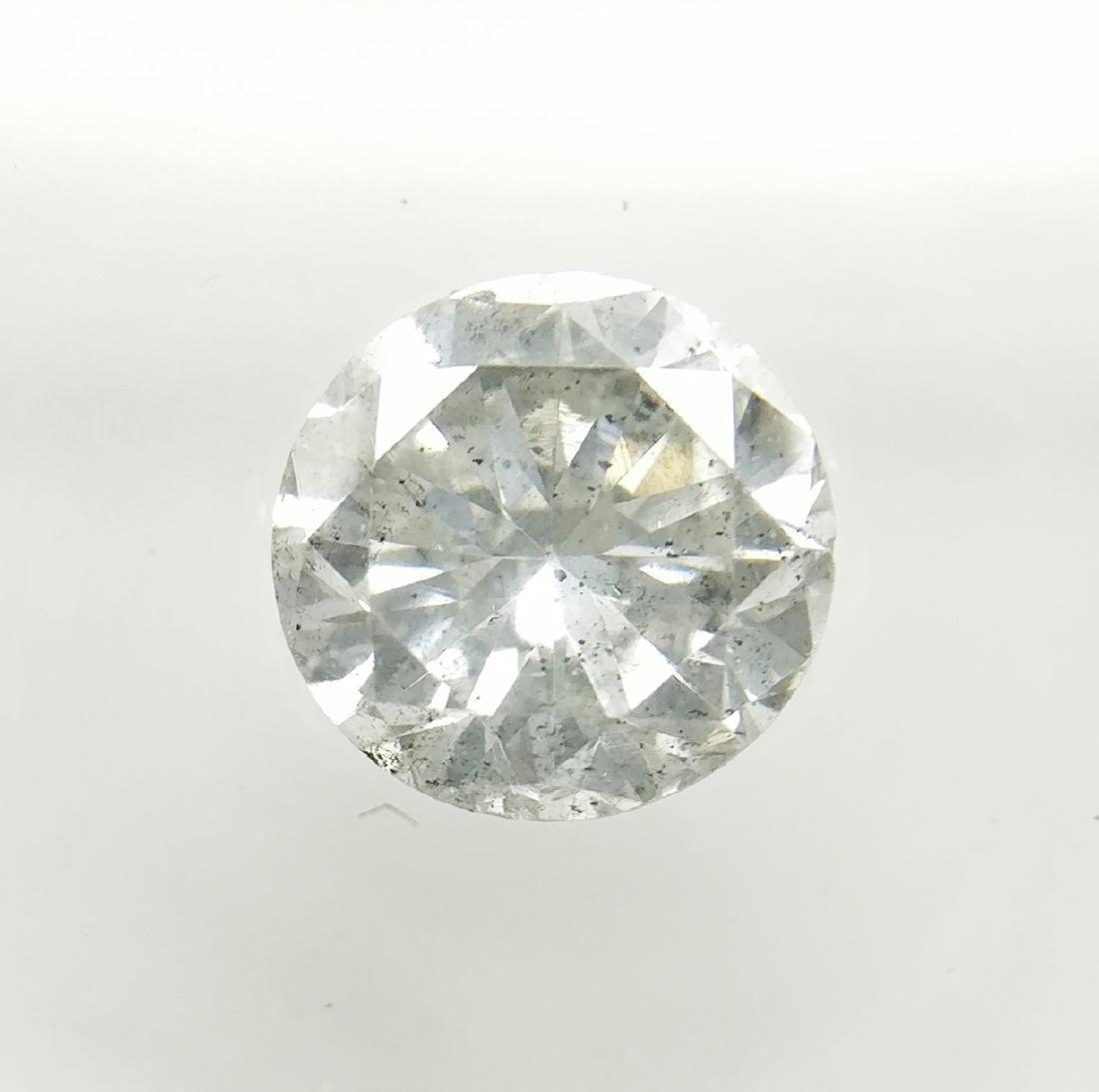 0.91 ct Round cut diamond I SI2