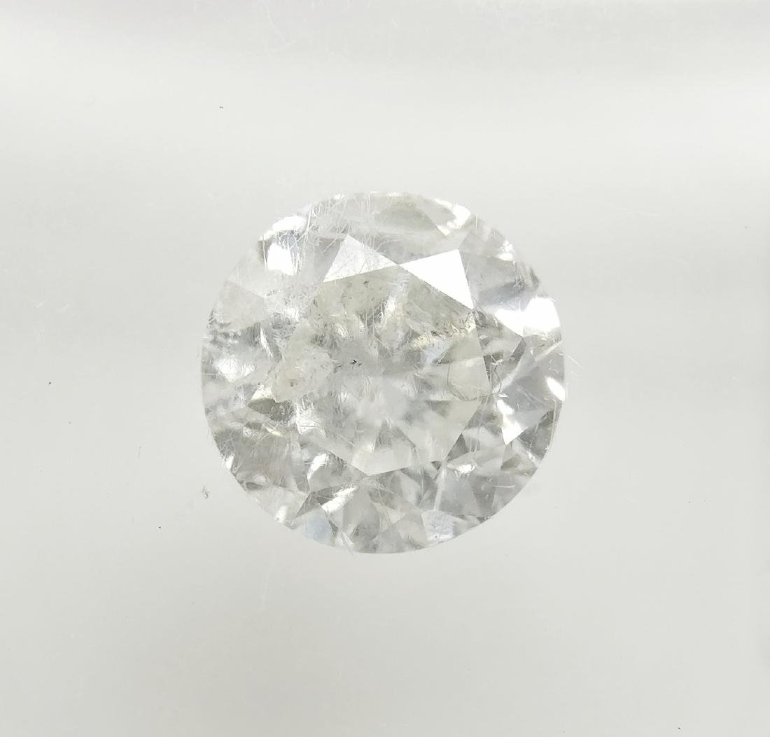 0.92 ct Round cut diamond F I1