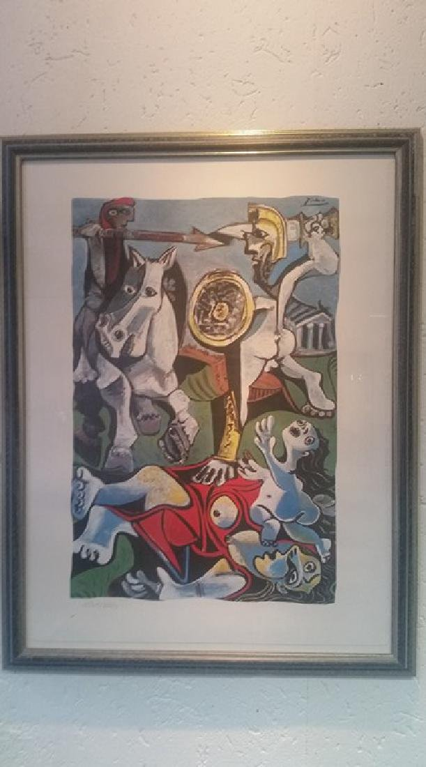 Pablo Picasso Lithograph Rape of the Sabine Women
