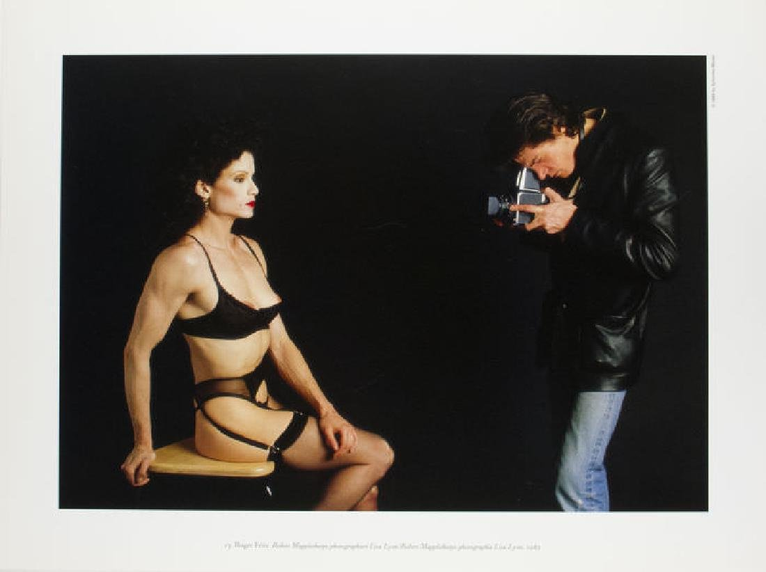 Roger Fritz Lithograph Robert Mapplethorpe Lisa Lyon