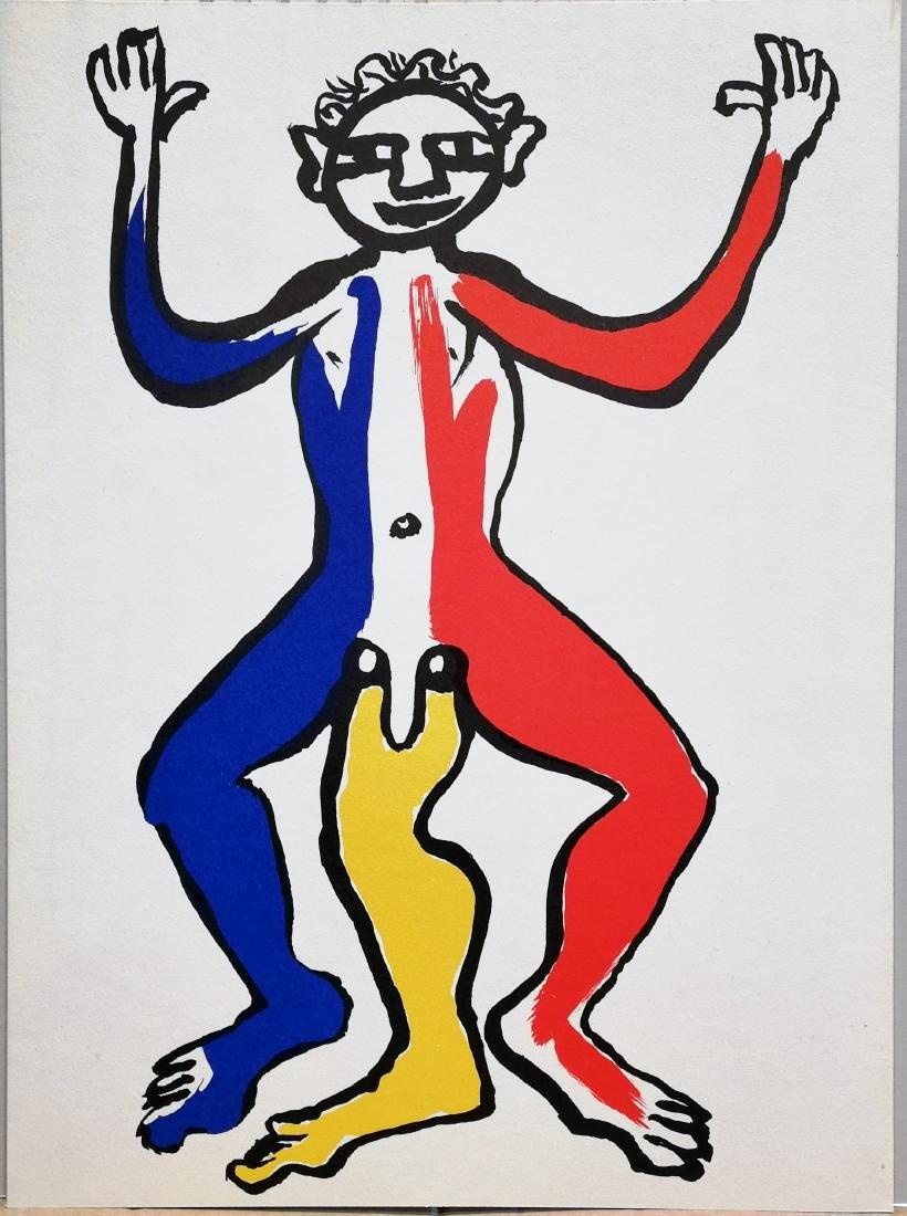 Alexander Calder Limited Edition Print Figure 3 Legs