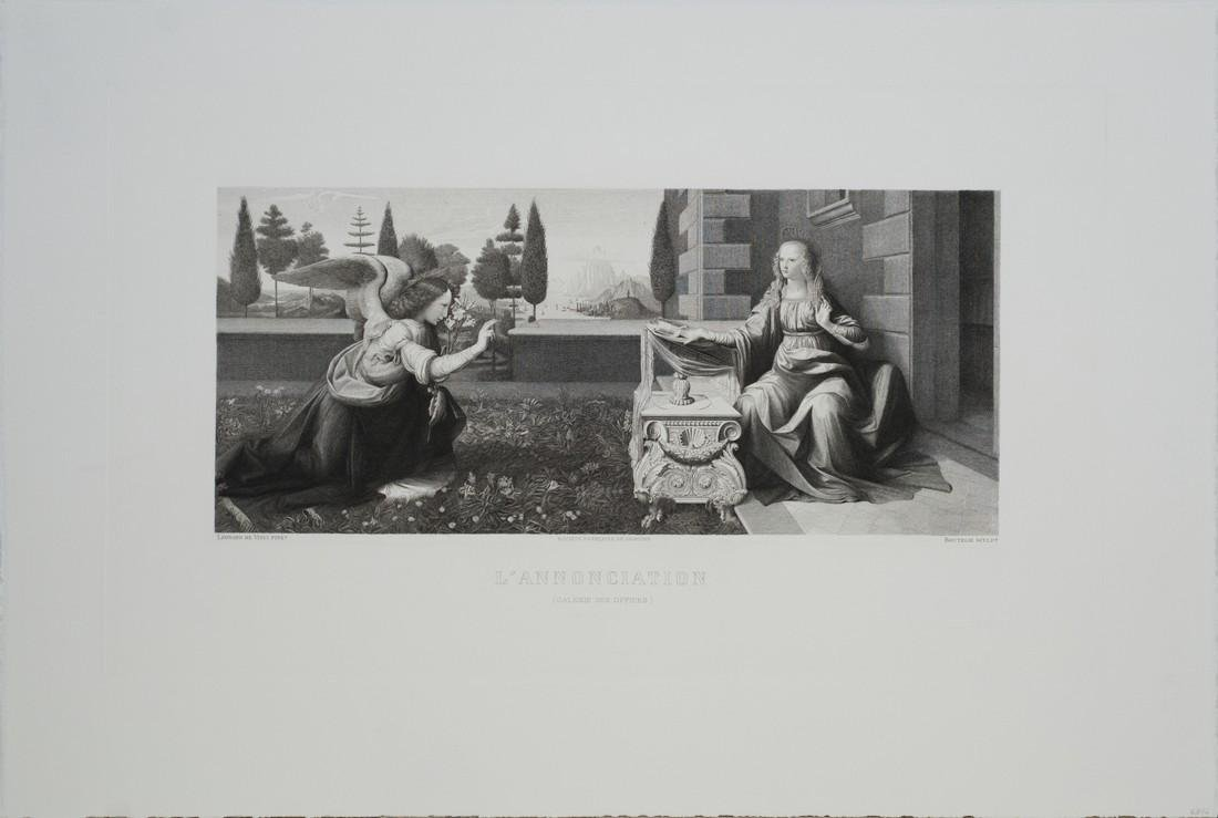 3 Assorted Leonardo Da Vinci Etchings