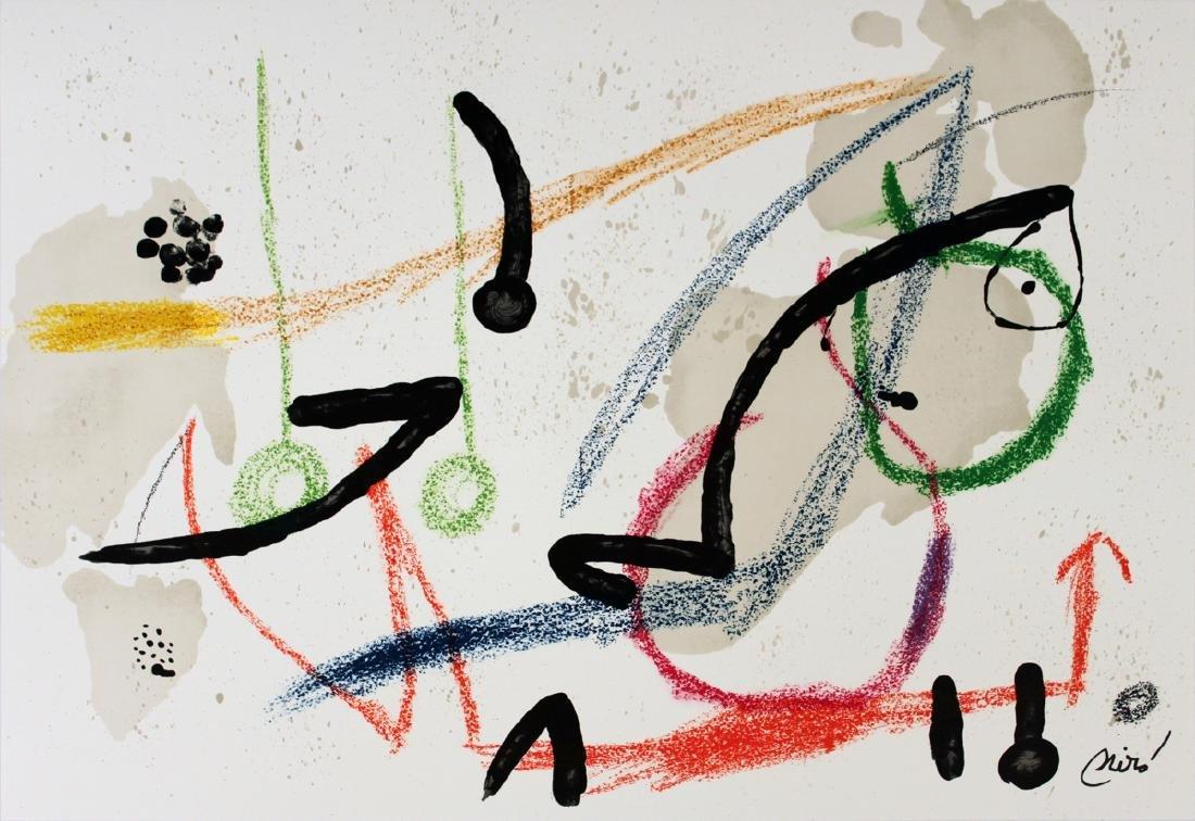 Joan Miro Lithograph Maravillas #1059