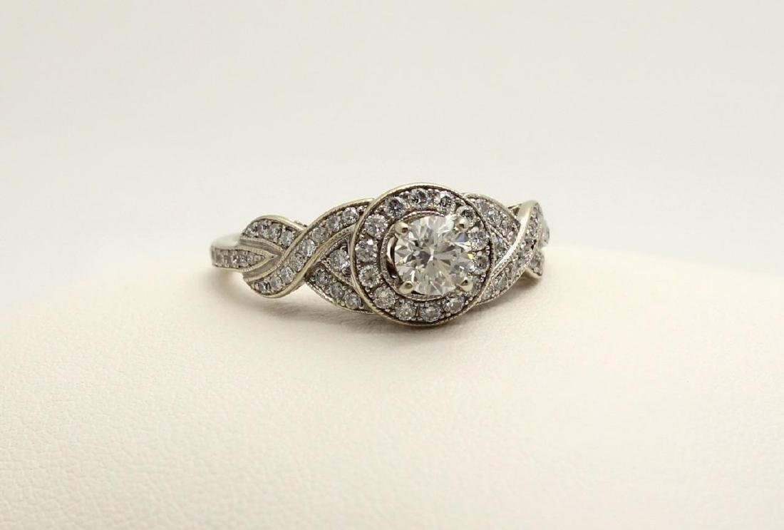 Neil Lane Bridal 14K Gold Diamond Halo Engagement Ring