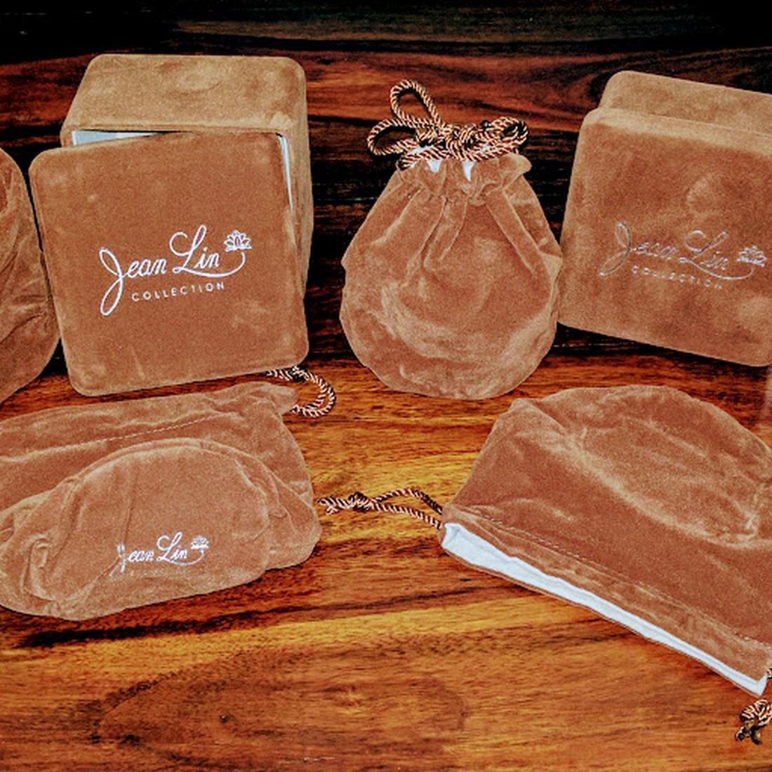 Set of Jasper Bangle Bracelets - 4