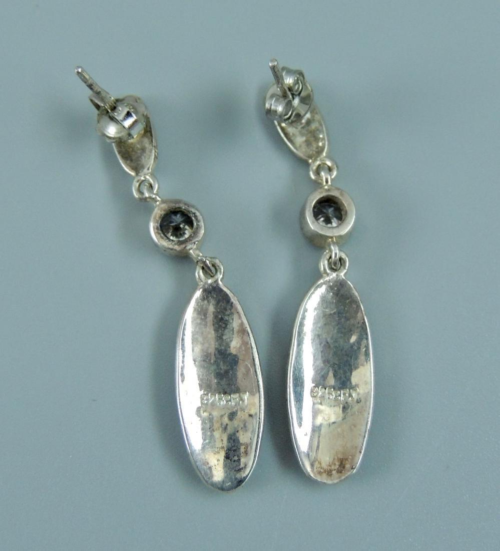 Vintage Sterling Silver Earrings - 5 pairs - 4