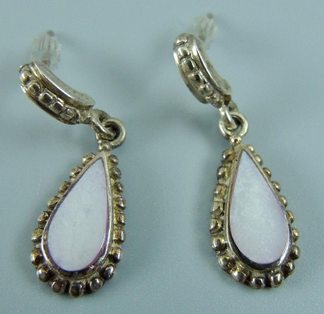 Vintage Sterling Silver Earrings - 5 pairs - 3