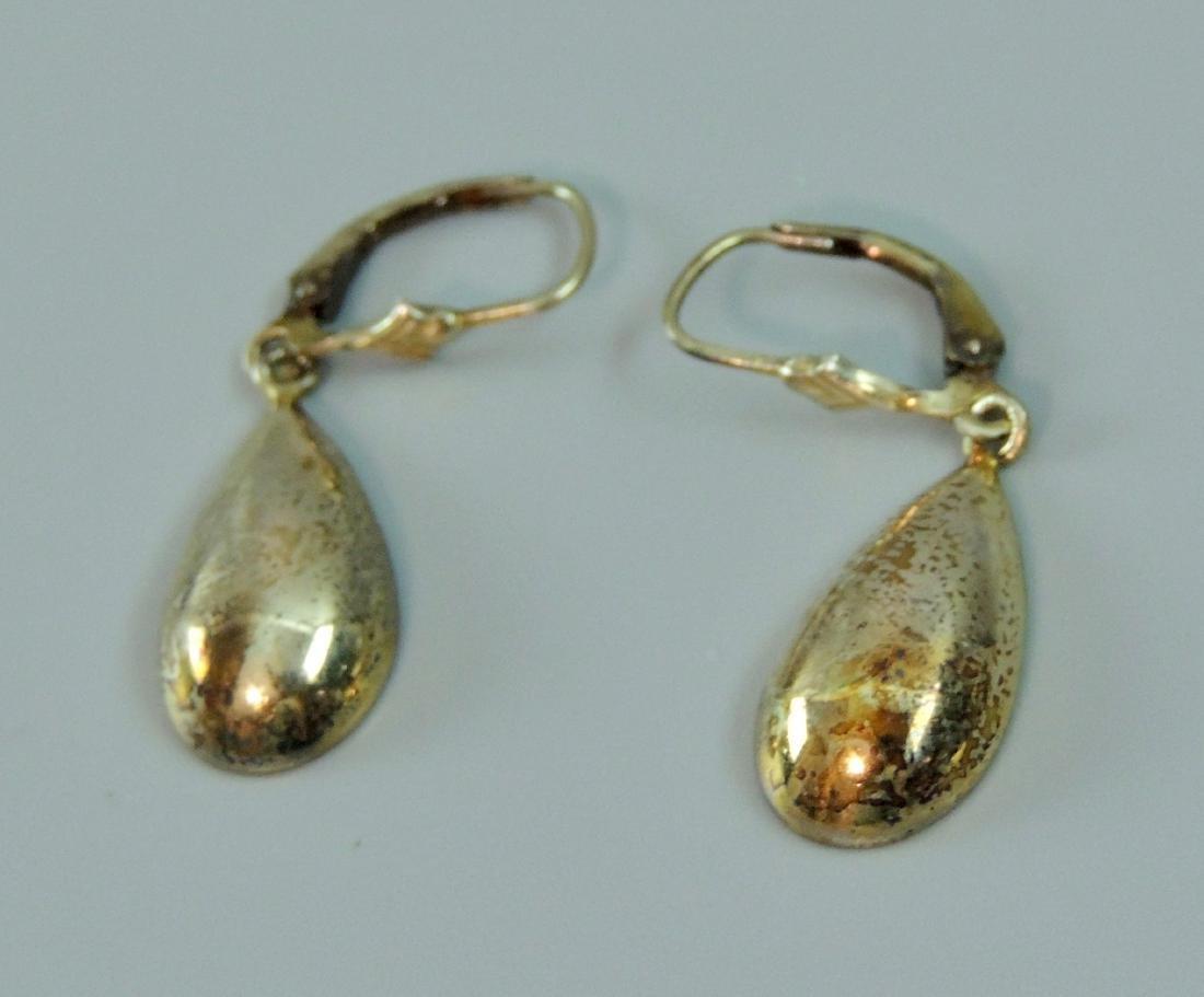 Vintage Sterling Silver Earrings - 5 pairs - 7