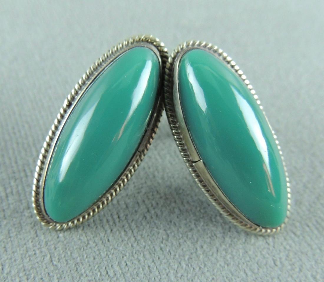 Vintage Sterling Silver Earrings - 5 pairs - 6