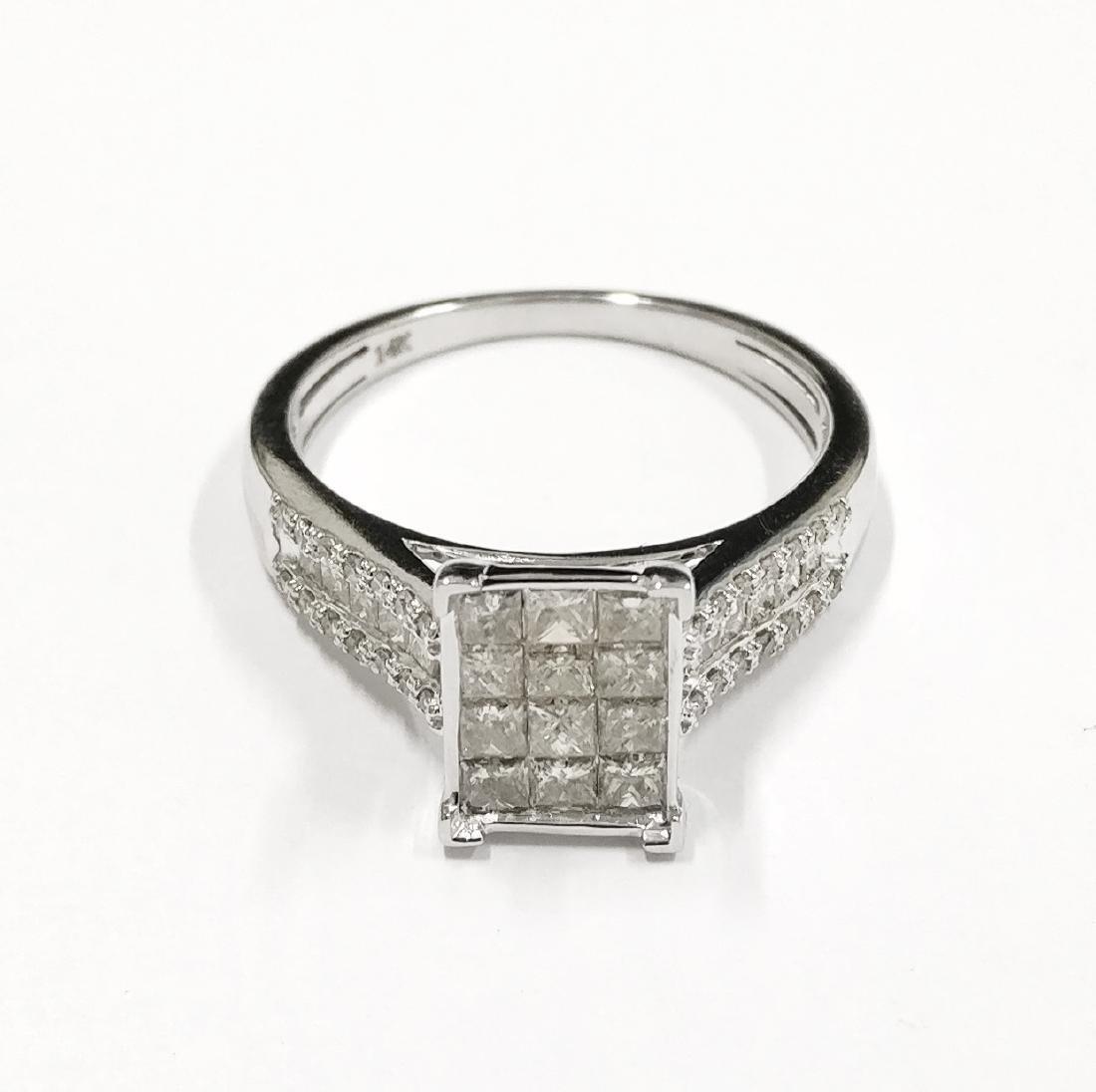 14k Gold New Ladies Diamond Ring, 1.22ctw