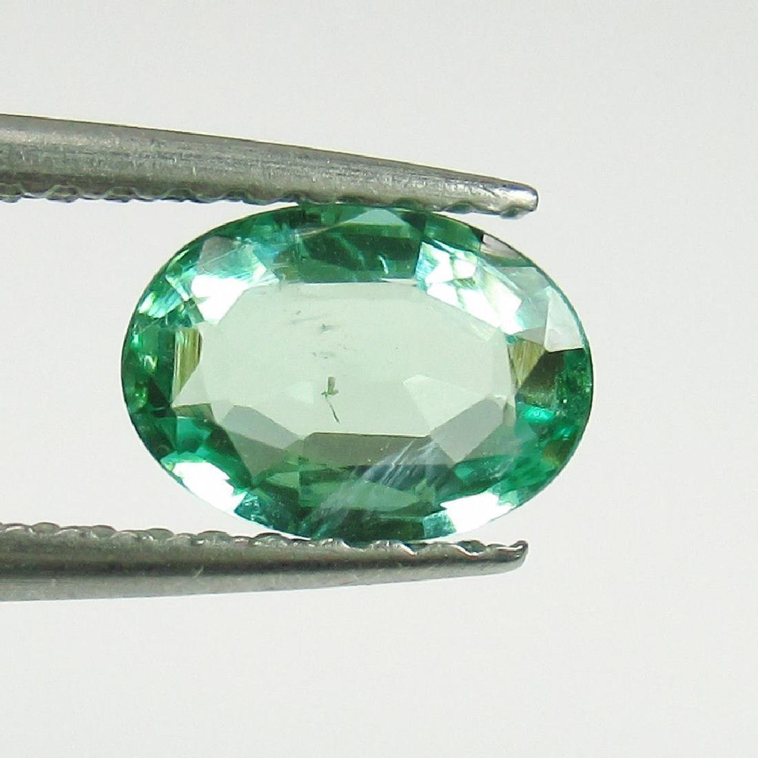 """0.75 Carat Natural Loose EXclusive """"VVS"""" Emerald (7x5)"""
