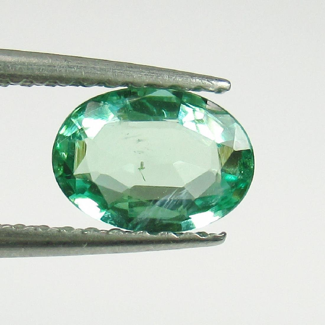 "0.75 Carat Natural Loose EXclusive ""VVS"" Emerald (7x5)"