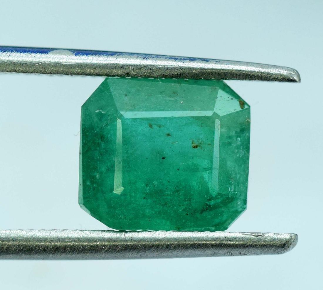 2.35 Carat Natural Emerald Loose Gemstone - 2