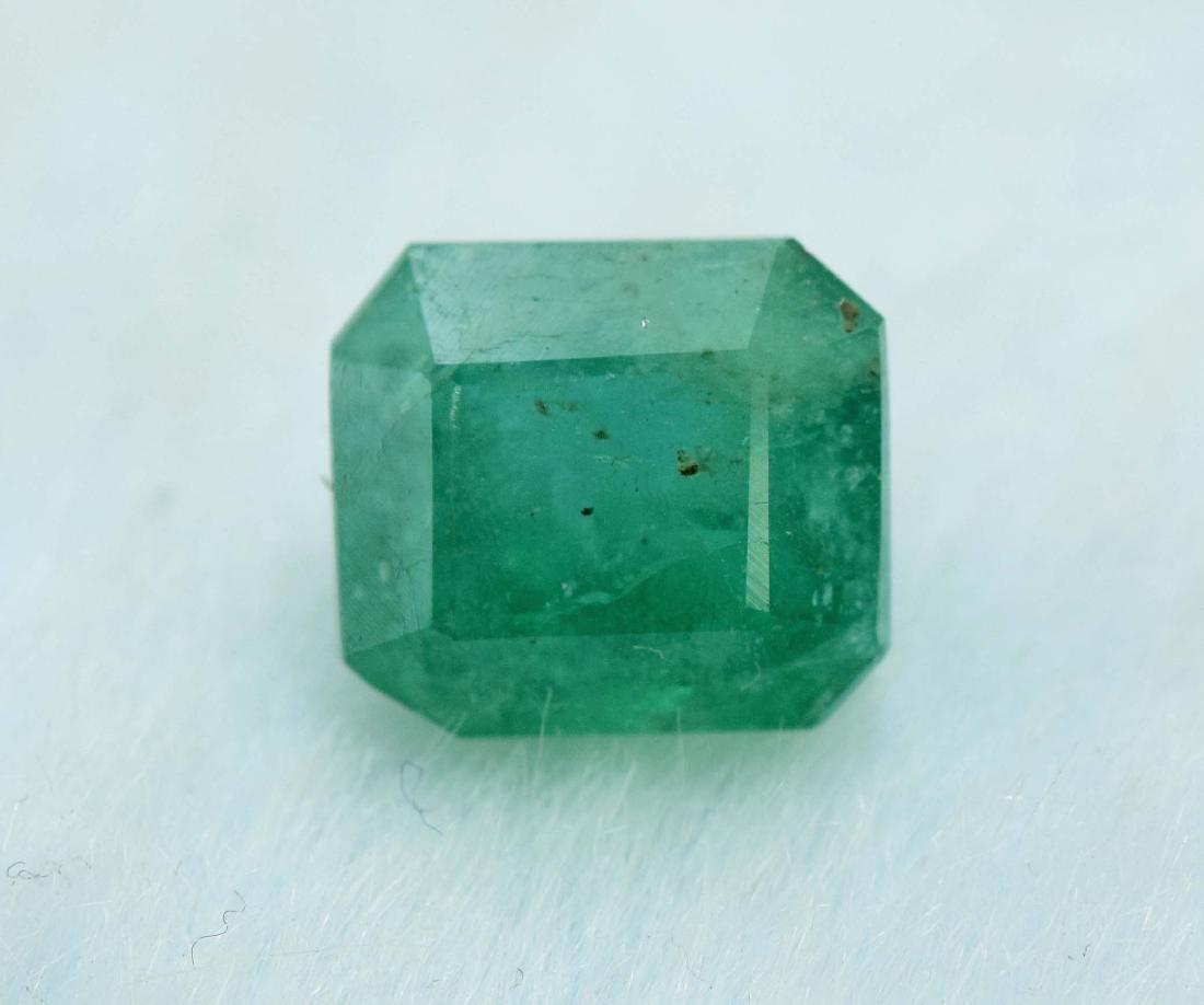 2.35 Carat Natural Emerald Loose Gemstone - 3