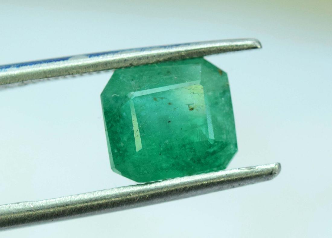 2.35 Carat Natural Emerald Loose Gemstone - 5