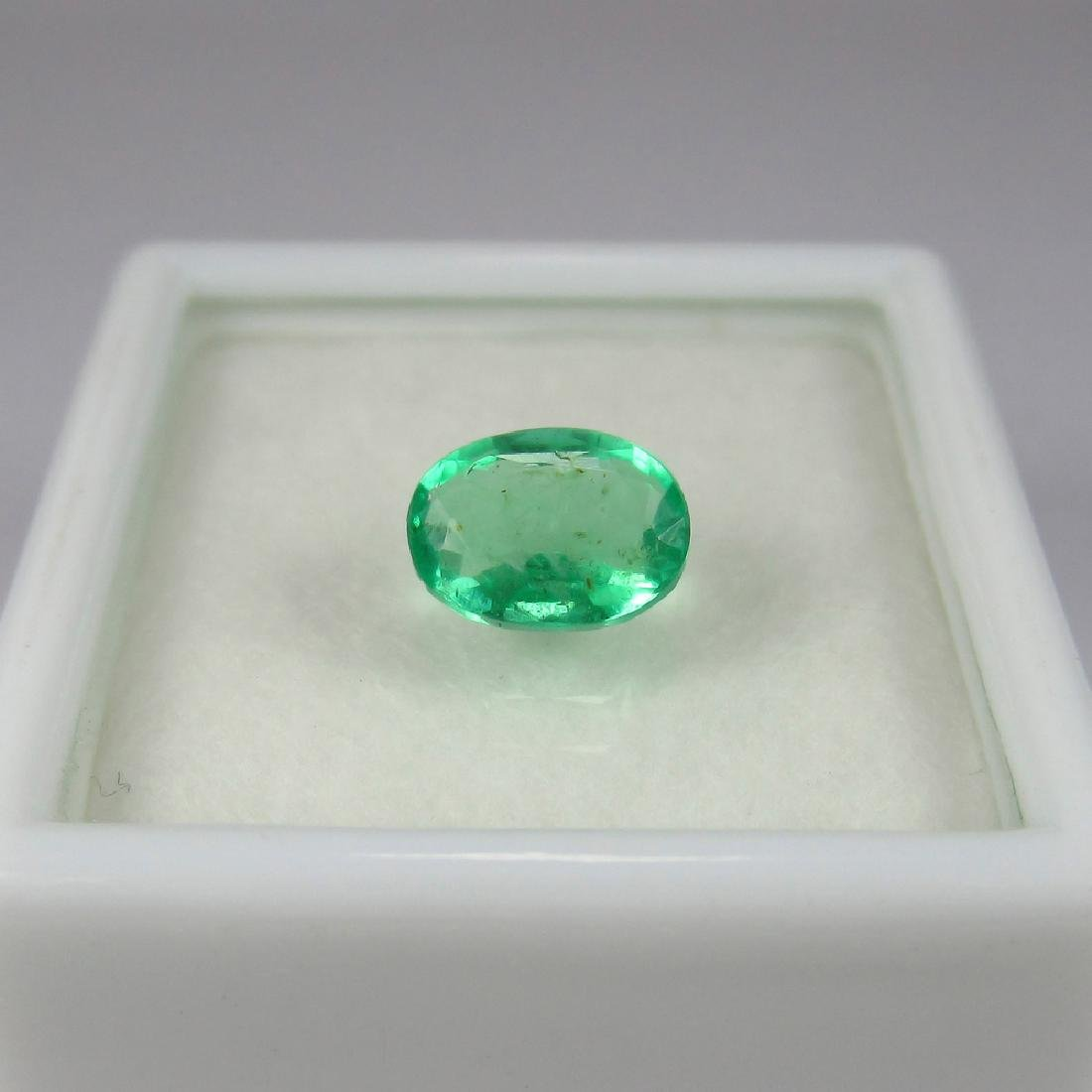 1.08 Carat Natural Loose Emerald Oval