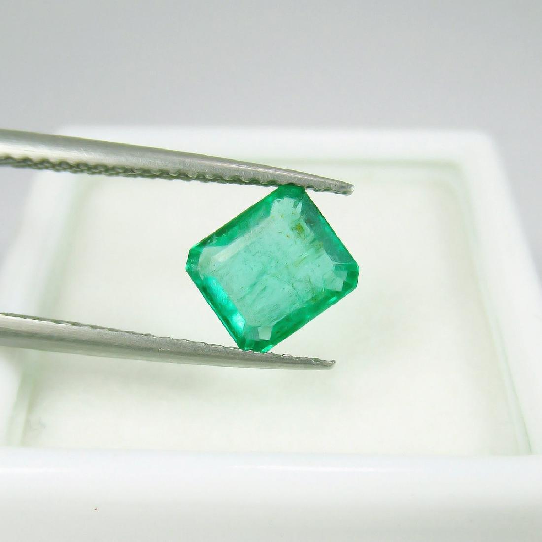 1.17 Carat Natural Zambian Loose Octagon Emerald