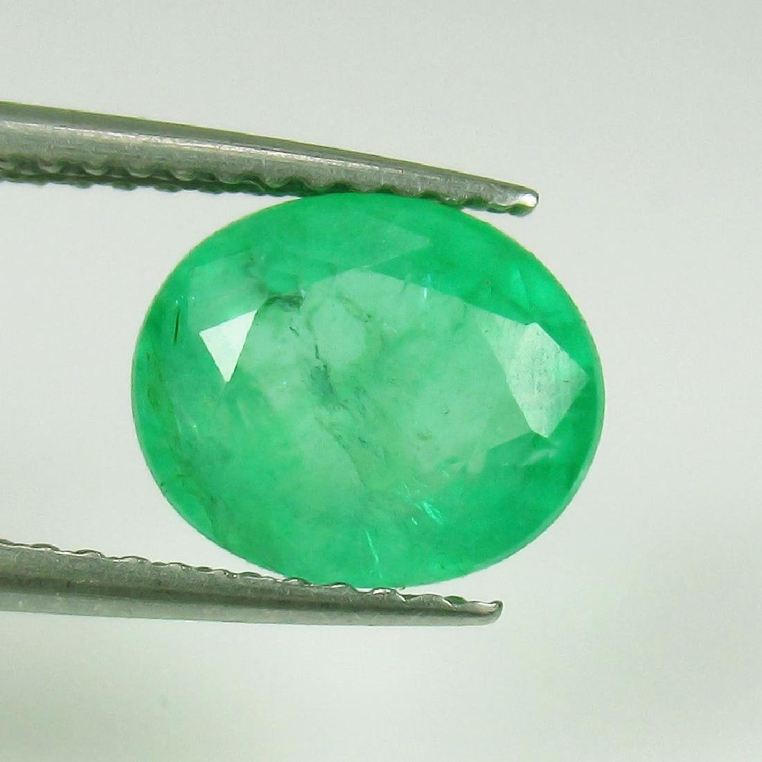 2.62 Carat Loose Zambian Emerald Oval cut
