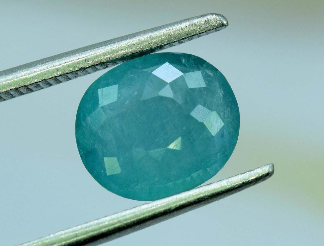 2.00 Carat Natural Grandidierite Loose gemstone - 3