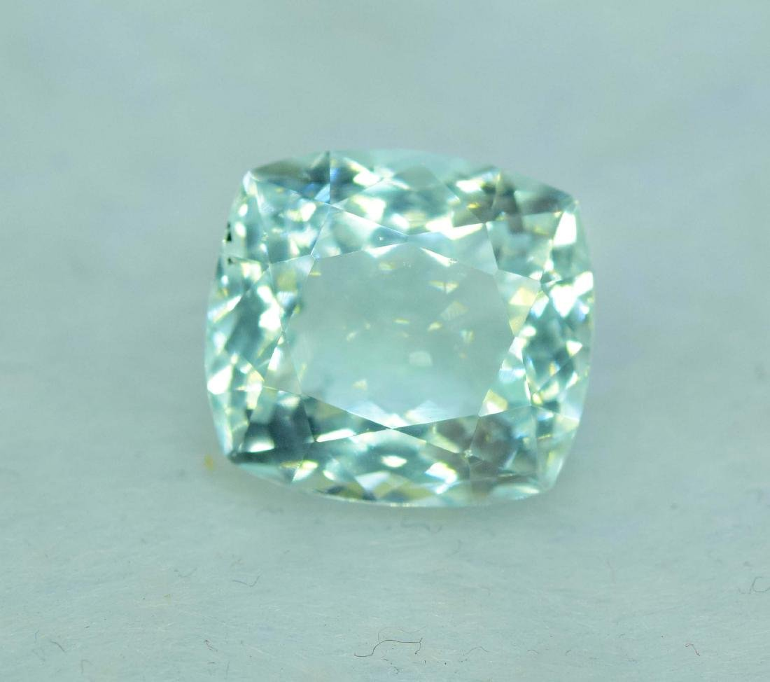 7.45 Carat Natural Aquamarine Loose gemstone - 2