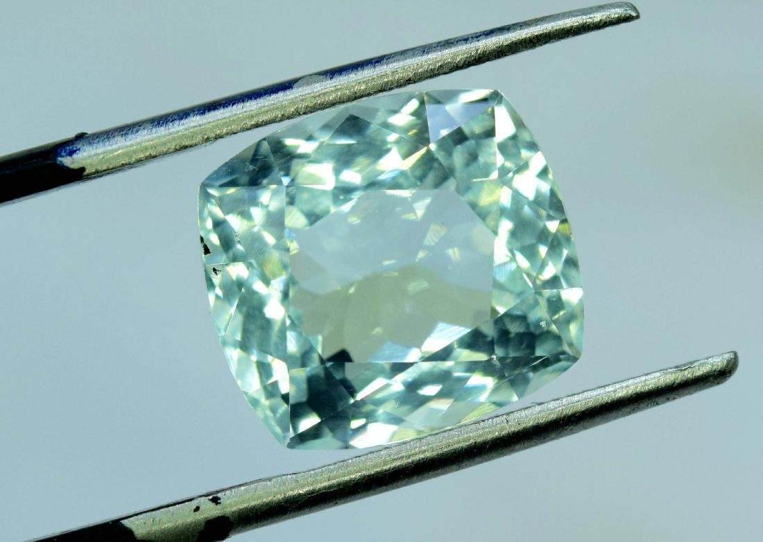 7.45 Carat Natural Aquamarine Loose gemstone - 3