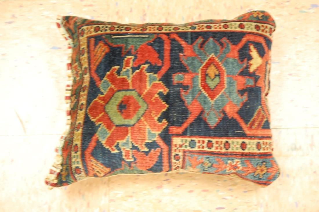 Hand Made Pillow Rug 1.3x1.6