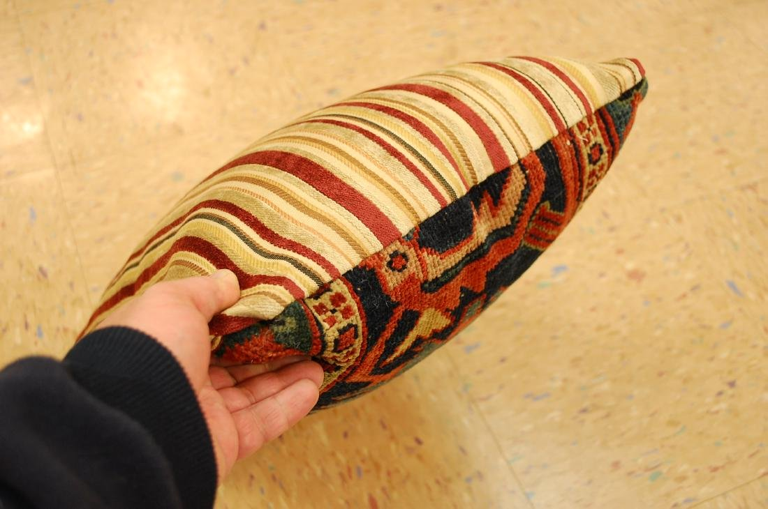 Hand Made Pillow Rug 1.3x1.6 - 4