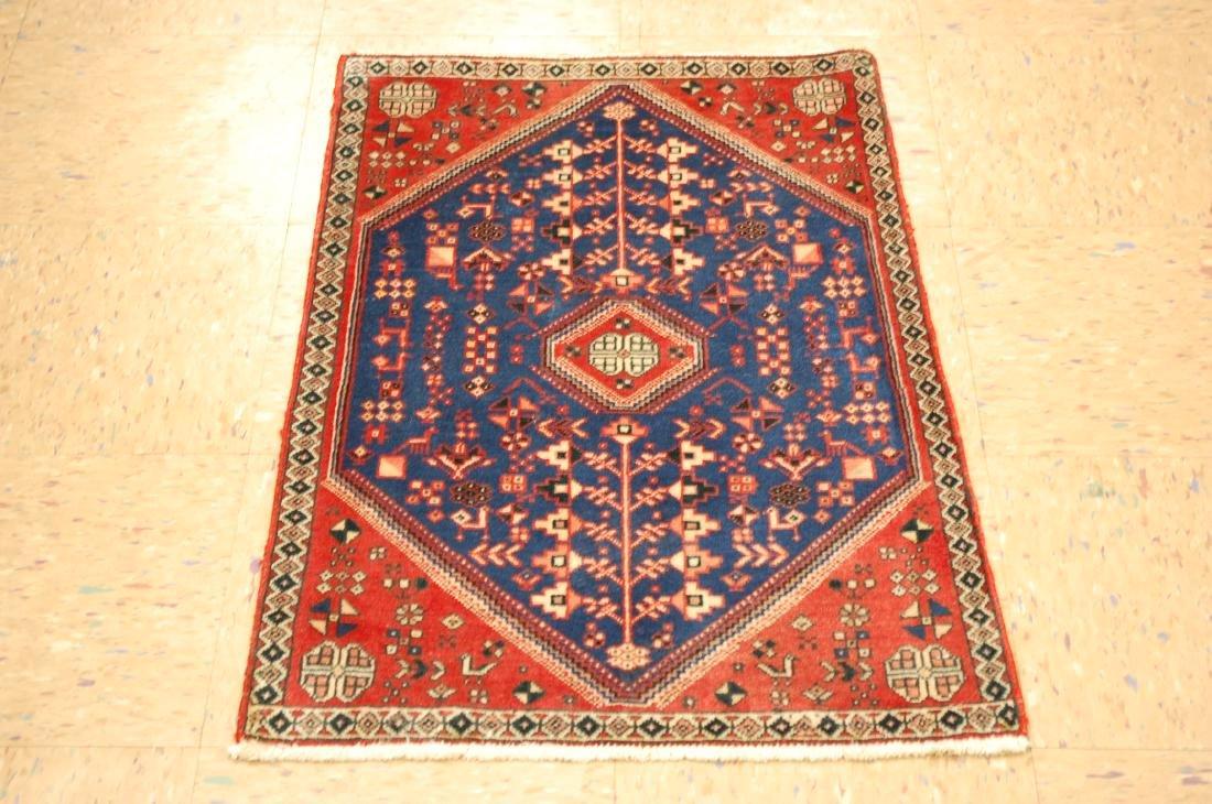 Persian Shiraz Qashkai Folklore Rug 1.10x2.11