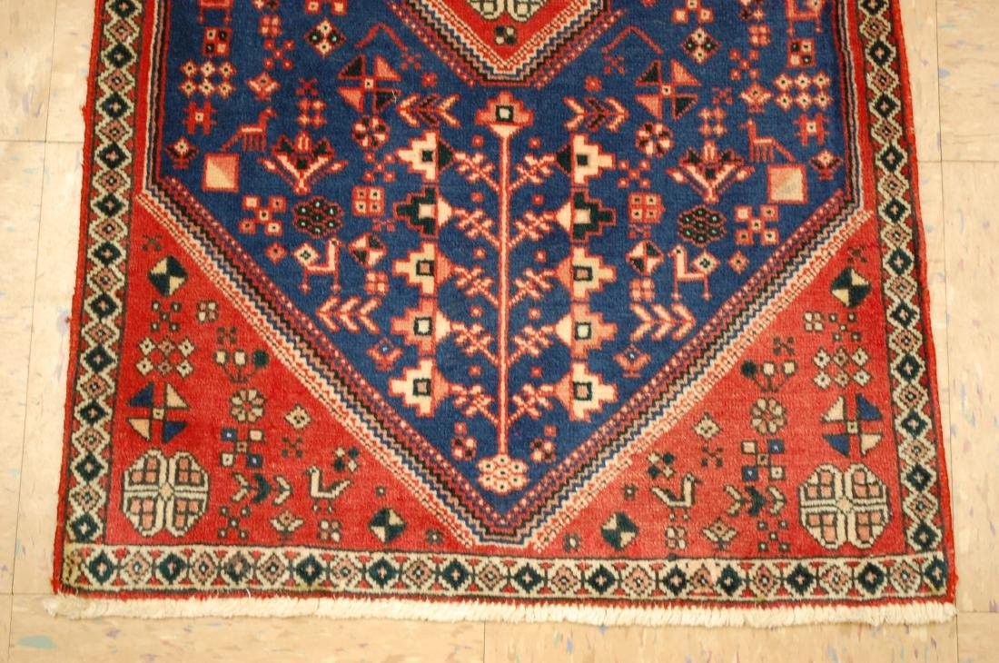 Persian Shiraz Qashkai Folklore Rug 1.10x2.11 - 2