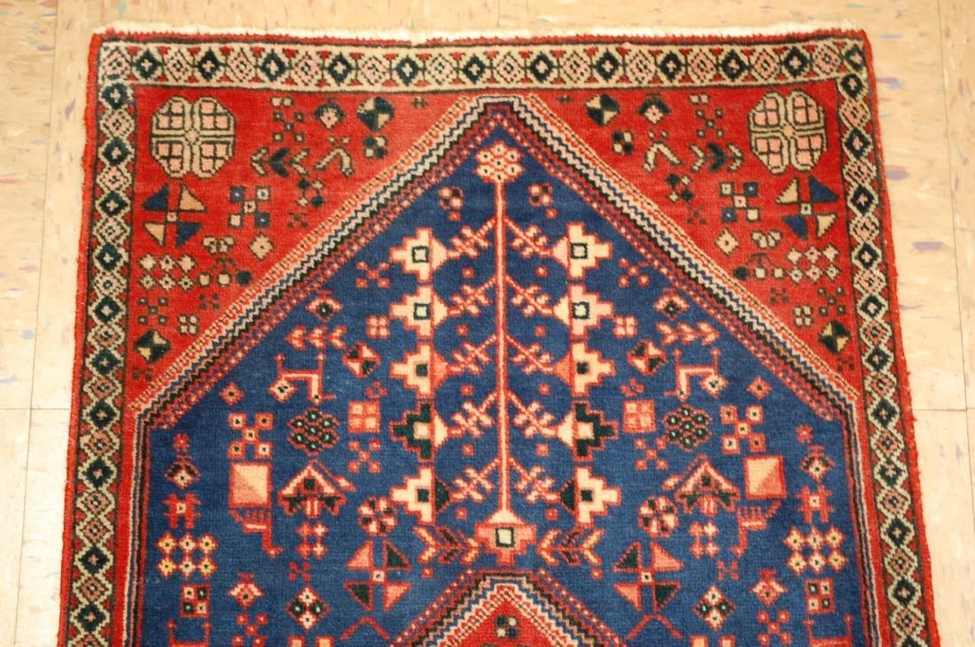 Persian Shiraz Qashkai Folklore Rug 1.10x2.11 - 3